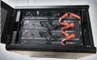 Rack für bis zu 4 Pylontech-Module
